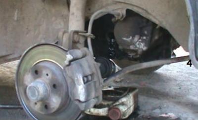 замена сальника переднего привода 2115