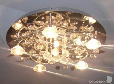 люстры с галогенными лампочками отзывы