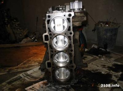замена 8 клапанной головки на 16 клапанную