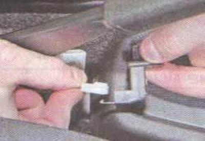 как на гранте натянуть ручной тормоз