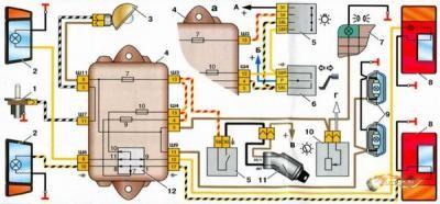 как отремонтировать проводку в фаре ваз 2112