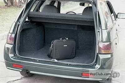 длина багажника ваз 2111