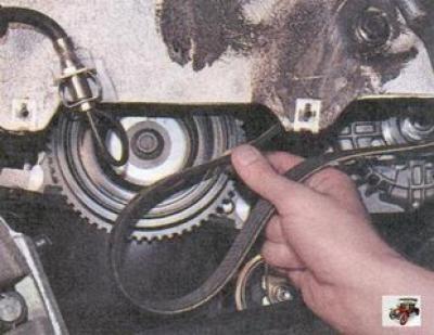 замена ремня генератора на приоре