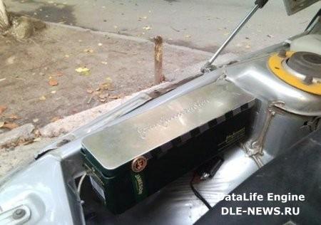 Ящик инструментов под капотом ВАЗ 2112, 2111, 2110