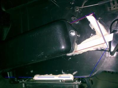 замена радиатора печки на калине без снятия панели фото
