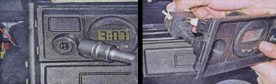 ваз 2107 замена прикуривателя