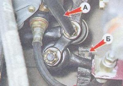 как правильно сменить рулевые наконечники в ваз 2107