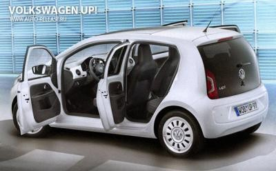volkswagen up цена в россии