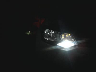 замена габаритных ламп поло седан