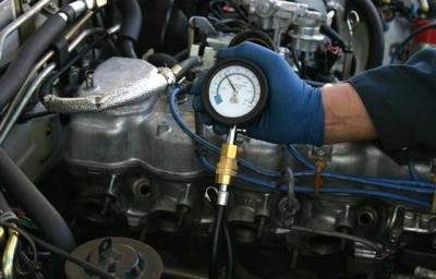 как померять компрессию на инжекторном двигателе