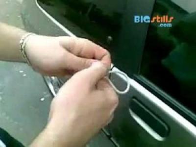 как открыть машину если ключи внутри