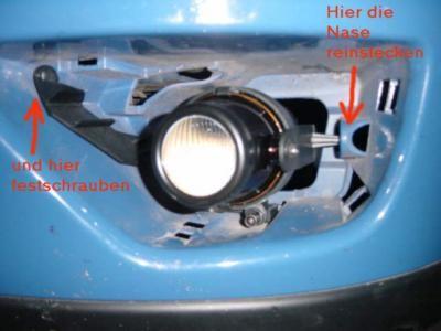 форд фокус 2 2006 как поставит противотуманные