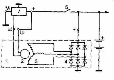 как возбудить генератор ваз 2110