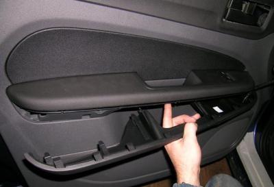 как разобрать заднию дверь форд фокус 2 рестайлинг
