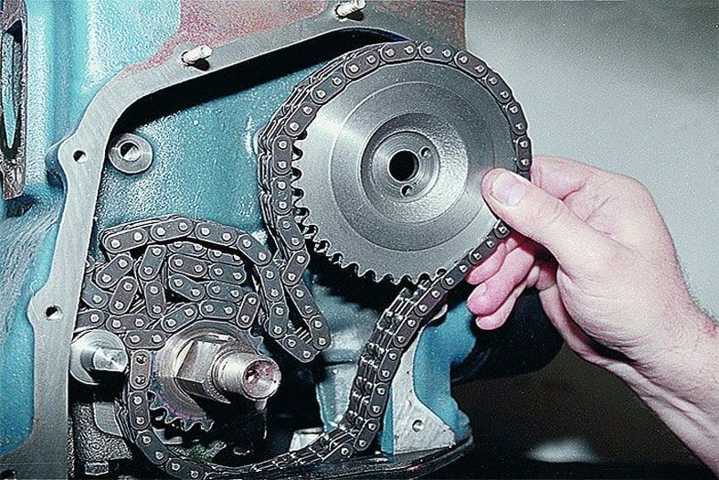 Как самостоятельно натянуть цепь ГРМ на ВАЗ 2107